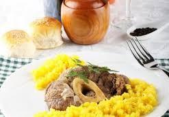 risotto alla milanese (quello vero!!) con ossobuco