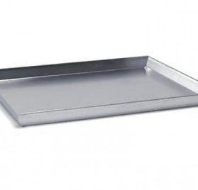 Teglia per pizza in alluminio 45x35