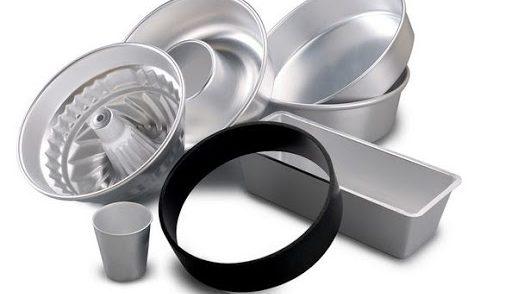 tortiere e teglie in alluminio