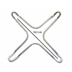 riduttore a croce universale per griglie 16,5 cm